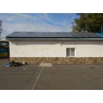 Автономная солнечная станция на автобазу