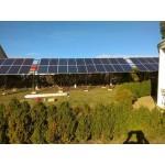15 кВт сетевая станция, монтаж