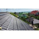 Сетевая солнечная станция 12 кВт с видом на море