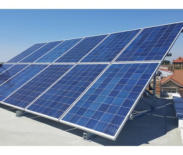 Сетевая солнечная станция на инверторах OMRON (Япония), 10кВт - ОДЕССА