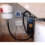 Система горячего водоснабжения на плоских гелиоколлекторах, с. Фонтанка - ОДЕССА