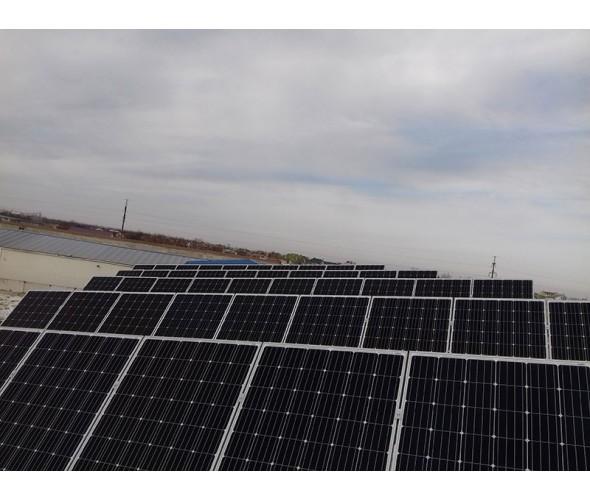 Сетевая солнечная станция на инверторе AKSG-30K-TM, 30кВт