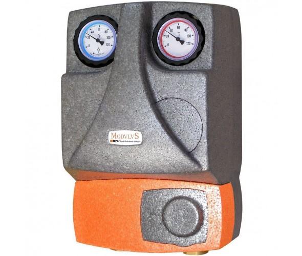 Насосная группа для твердотопливных котлов и систем отопления BRV 21355 (R) без смесителя, 2 линии - ОДЕССА