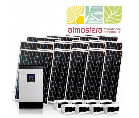 Автономная солнечная электростанция 3 кВт - ОДЕССА