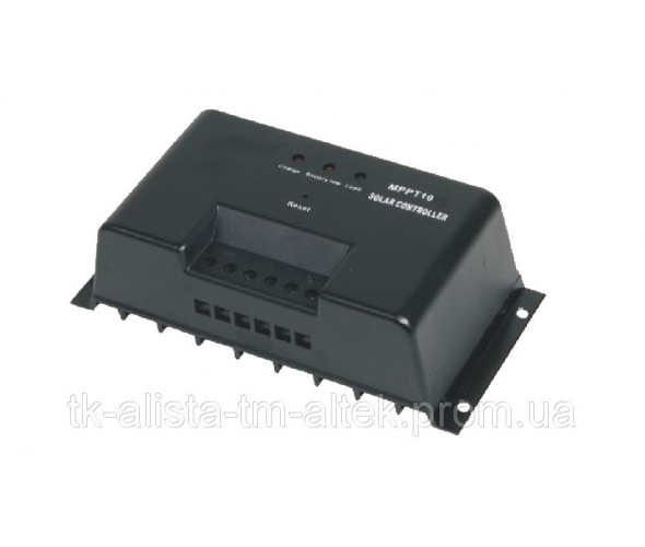 Контроллер заряда аккумуляторных батарей для солнечных модулей Altek MPPT10 - ОДЕССА