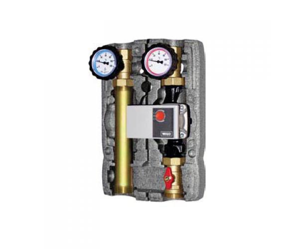 Насосная группа для твердотопливных котлов и систем отопления BRV 22355 (L) без смесителя, 2 линии - ОДЕССА