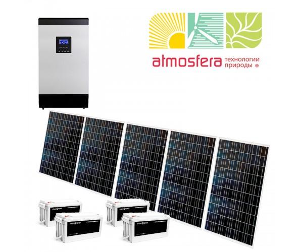 Автономная солнечная электростанция 1 кВт - ОДЕССА