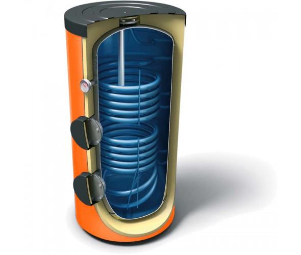 Бак-накопитель косвенного нагрева АТМОСФЕРА 20,200SE двухконтурный на 200 литров - ОДЕССА
