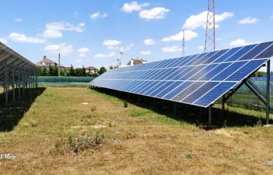 Наземная солнечная электростанция под